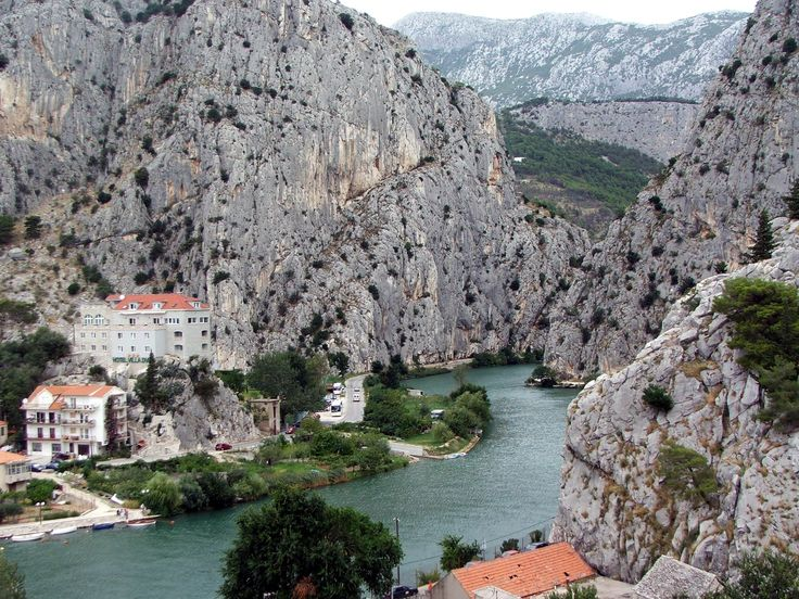 Omis, Croatia  One of the thousands of amazing towns on Croatian coast.