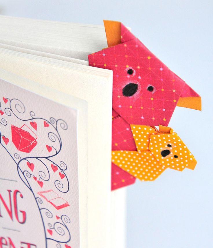 Die besten 17 Ideen zu Origami Lesezeichen auf Pinterest