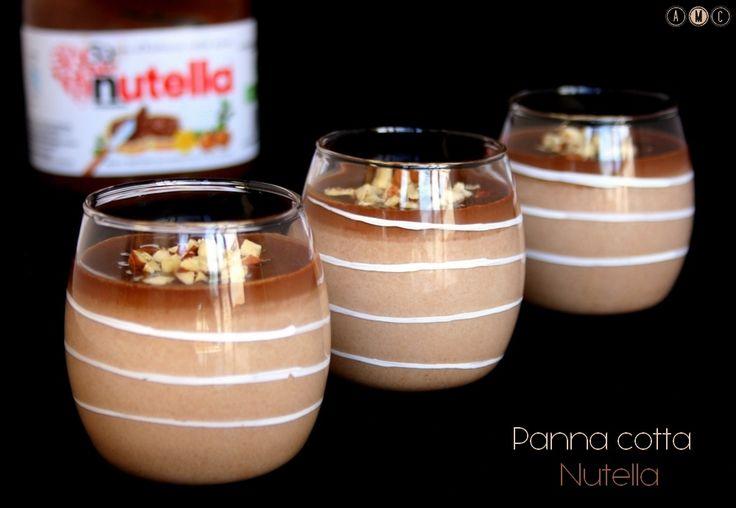 Panna cotta Nutella