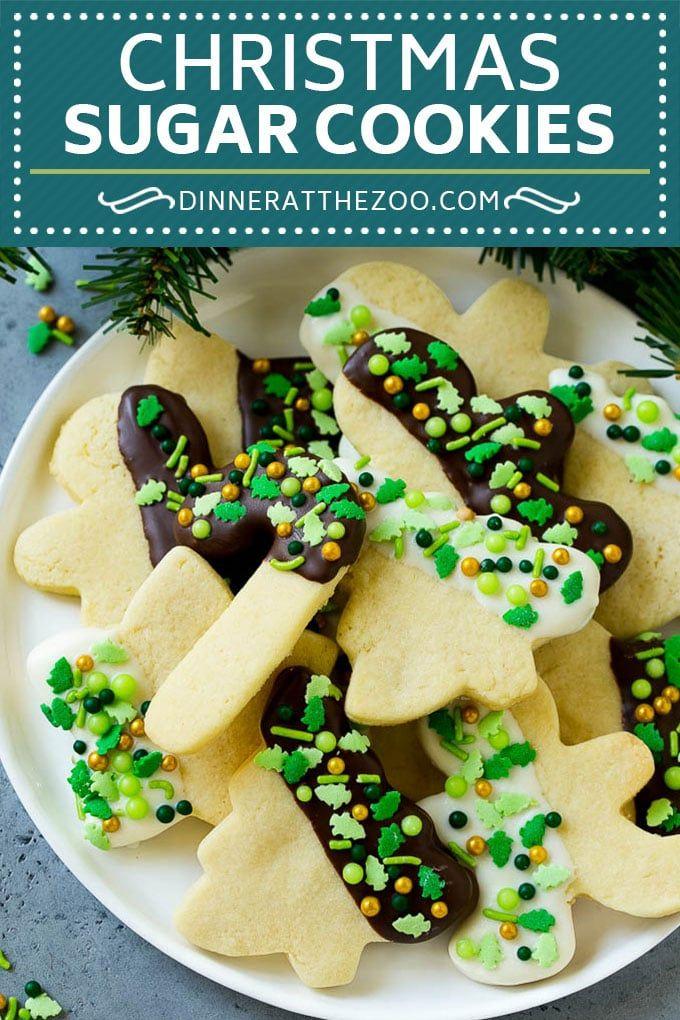 Christmas Sugar Cookies Recipe Cut Out Cookies Recipe Sprinkle