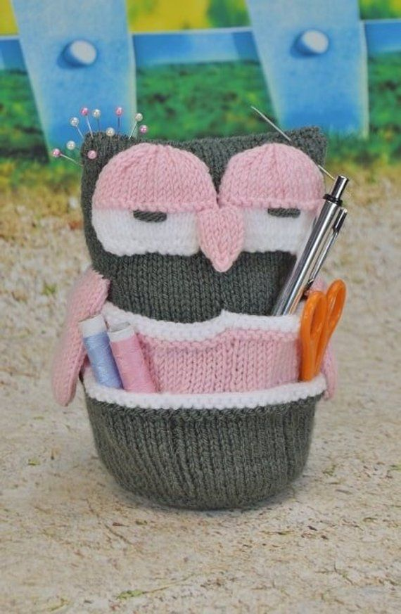 c0d2673e5659 TOY KNITTING PATTERN - Handy Owl Knitting Pattern Download From Knitting by  Post. Pdf download by KnittingByPost