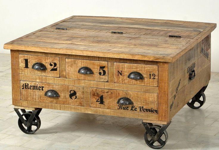 Couchtisch-Truhe beige, », im factory design, Breite 90 cm«, FSC®-zertifiziert, SIT-Möbel Jetzt bestellen unter: https://moebel.ladendirekt.de/wohnzimmer/tische/truhentische/?uid=c6e2fa8a-6fec-534d-8721-f6af3c2e49a7&utm_source=pinterest&utm_medium=pin&utm_campaign=boards #truhentische #wohnzimmer #tische