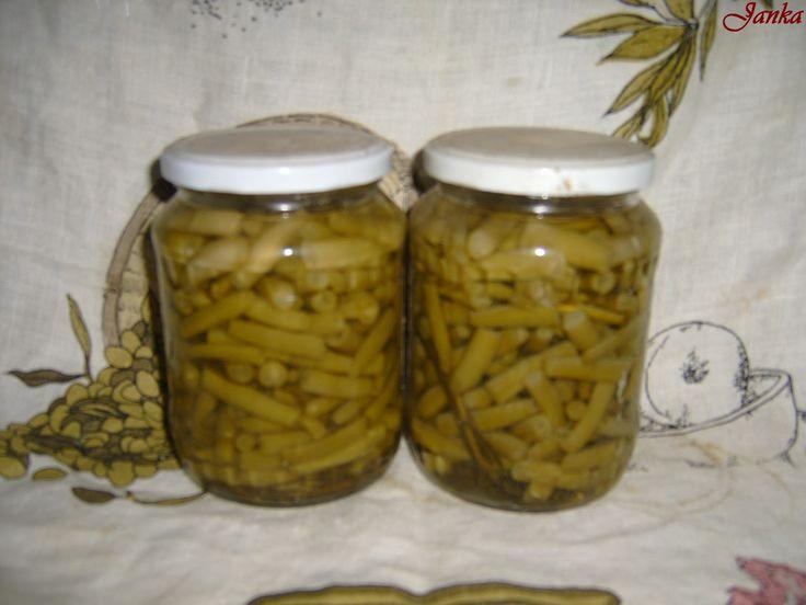 Janka képes szakácskönyve: Zöldbab télire