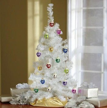 All-Season Tree & Mercury Glass Ornaments from Lillian Vernon.  Add vintage-look sparkle to your seasonal decorating with a snowy white tabletop tree and shiny multicolor mercury glass mitten ornaments.  Get your rebate from RebateGiant.