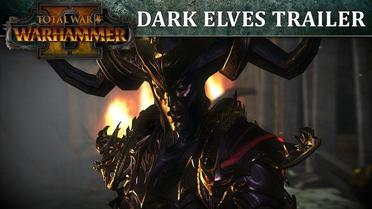 Total War: WARHAMMER 2  Dark Elves In-Engine Trailer