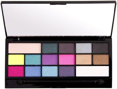 Make-up Revolution I ♥ Make-up I Heart Sin Lidschatten-Palette   – exercitii