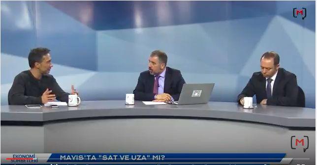 """Medyascope ///  Ekonomi Sohbetleri (67): Mayıs'ta """"Sat ve uza""""mı? Ali Ağaoğlu, Şant Manukyan, Özgür Altuğ"""