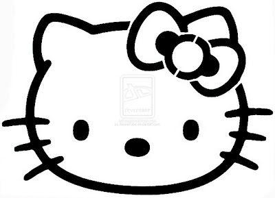 cookie lee jewelry Amazing Stencils  Hello Kitty Stencil