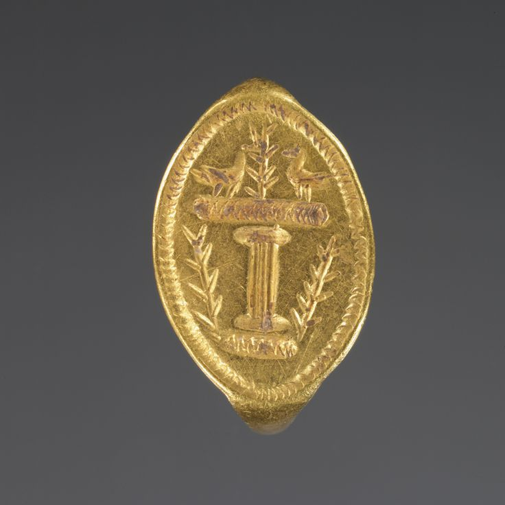 Ring; Unknown; Greece; 4th century B.C.; Gold; 1.7 cm (11/16 in.); 81.AN.76.81