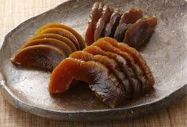 奈良漬け - Nara-duke (Nara's famous pickles) You get to taste samples in the stores inside an arcade shopping alley on the way to Todai Temple