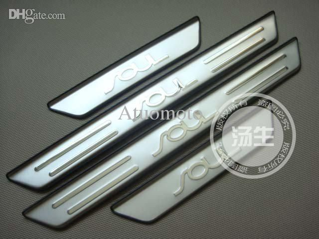 Wholesale-2010-2015 KIA SOUL High Quality Stainless Steel Scuff Plate/Door Sill Online with $28.41/Piece on Atuomoto's Store | DHgate.com