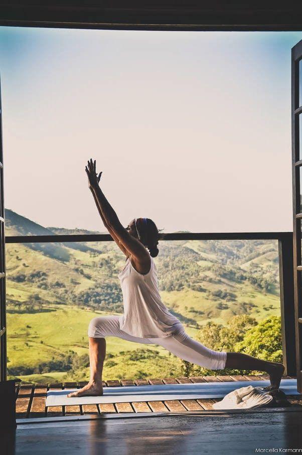 Fazenda Lila: yoga