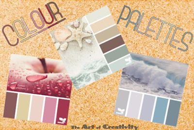 The Art of Creativity Studio: COLOUR PALETTES Colour Palettes from (http://design-seeds.com)