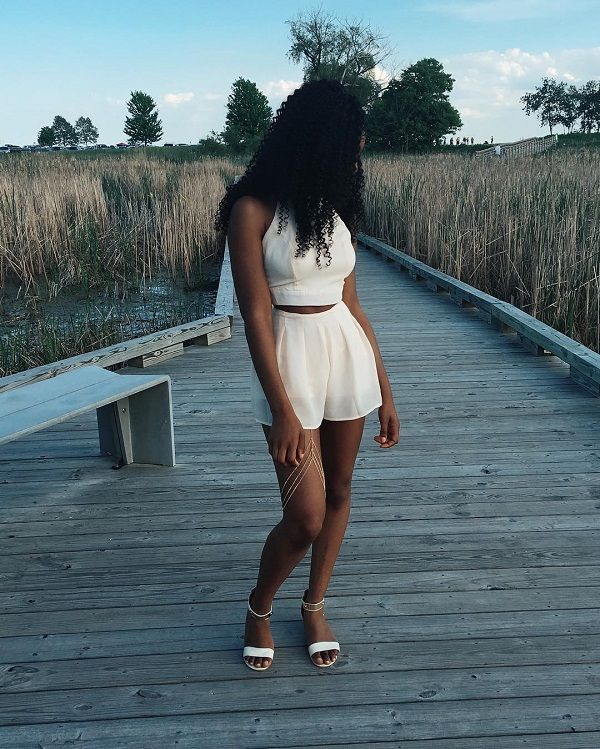 African American Girls Fashion: 46 Best Summer Trends W/ Natural Hair Images On Pinterest
