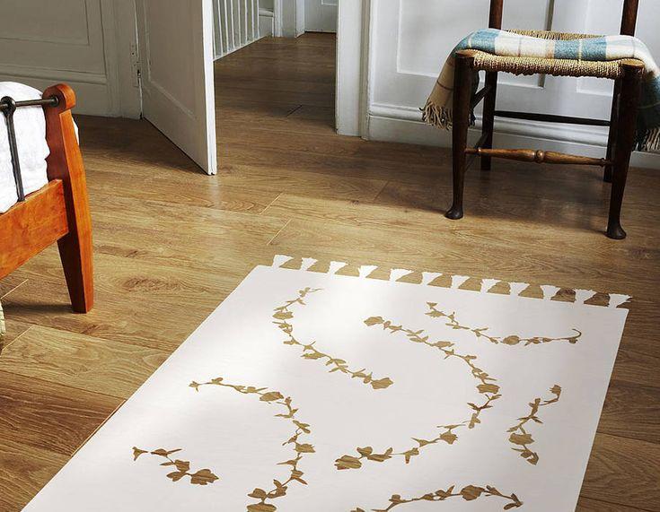 Rug Vinyl Floor Sticker   | Contemporary Wall Stickers