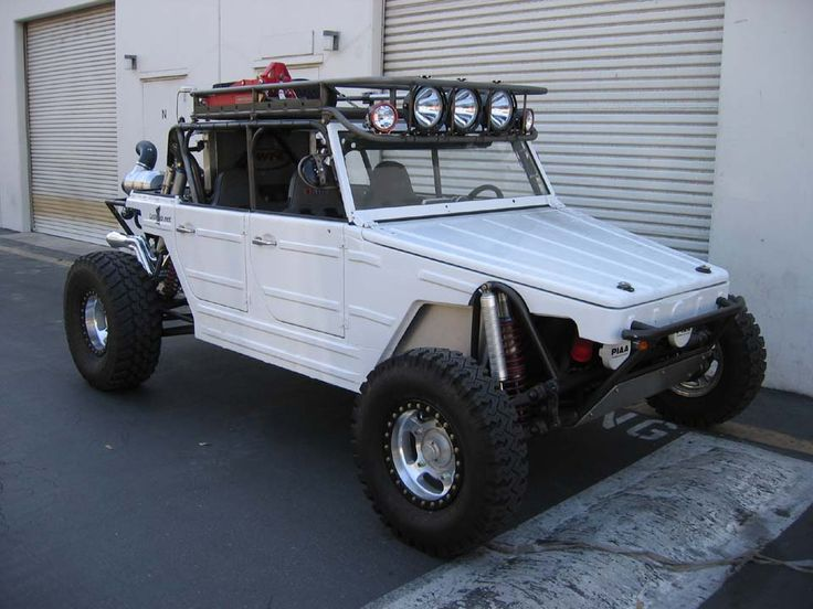 Good Alternative to the Baja Bugs.. and with 4 doors too.. I'm loving this Volkswagen Thing..