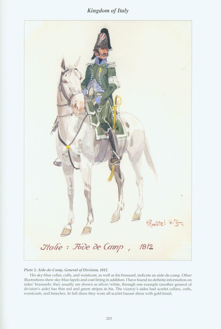 Regno d'Italia - Generale di stato Maggiore. 1812