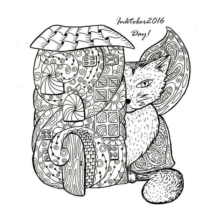 adult coloring book page fairy house big cat with butterfly wings vector illustration buy this stock vector on shutterstock find other images - Where To Buy Coloring Books For Adults
