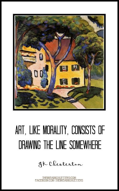 The Breadbox Letters: Art, Like Morality                                                                                                                                                                                 More