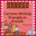 Perfect for your writing center, this package contains of 15 cartoon themed writing pages in French! With an Autumn (Fall) theme, the cartoon pictu...