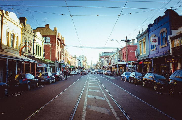 Fitzroy, Melbourne: I had some of the best afternoons of my life wandering in Melbs.