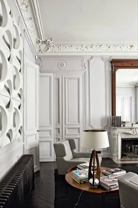 Modern French contemporary parisian Interiors 13                                                                                                                                                                                 More