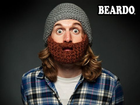 Hobby & Fritid - Beardo Skäggmössa, Stå emot kylan som en riktig man!