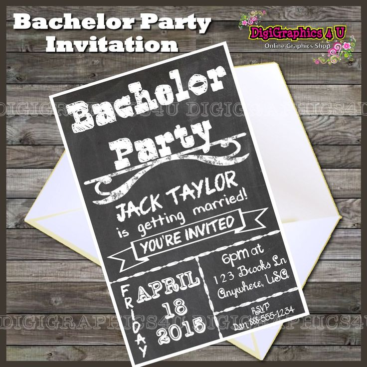 Best 25+ Bachelor party invitations ideas on Pinterest | Bachelor ...