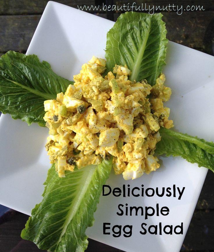 ... Recipe | Simple Egg Salad Recipe, Egg Salad Recipes and Egg Salad
