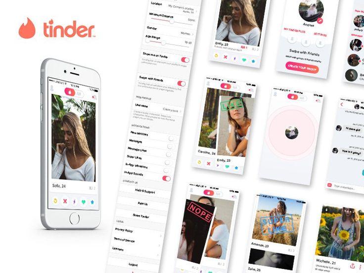 Tinder iOS UI Kit