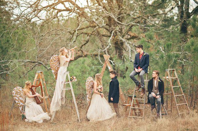 Angel Inspired Wedding