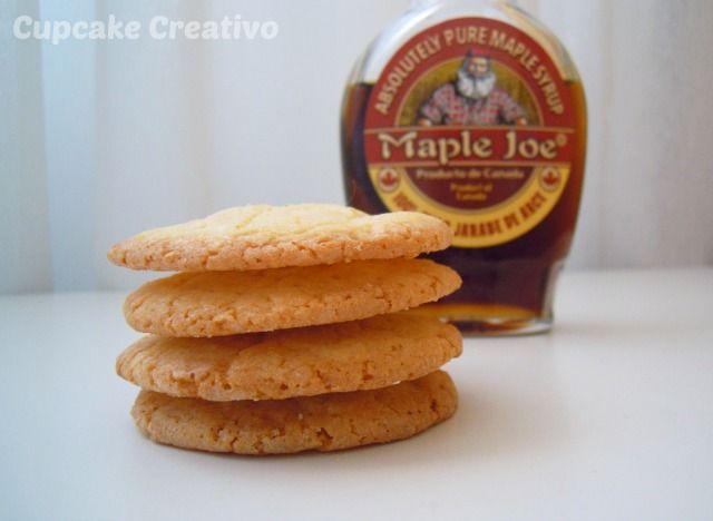 Cupcake Creativo: Galletas de Sirope de Arce (Mapple Syrup)