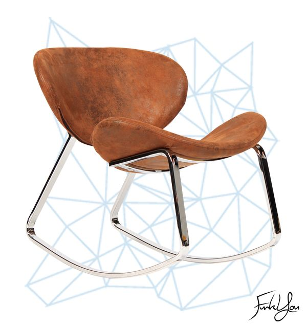 Punk Rocker Chair - Brown. www.funkyou.com.au