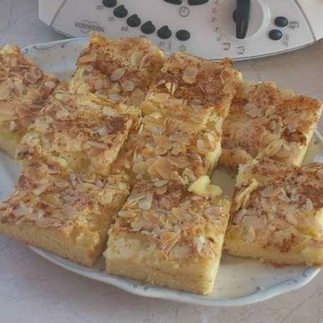 Oma Buss Apfelkuchen vom Blech im Ofenzauberer, 200 Grad - 30 Minuten