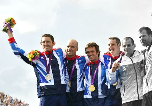 Team GB Medals 2012      10. Tim Baillie and Etienne Stott - GOLD      11. David Florence and Richard Hounslow - SILVER  (Canoe Slalom: Men's Canoe Double (C2))