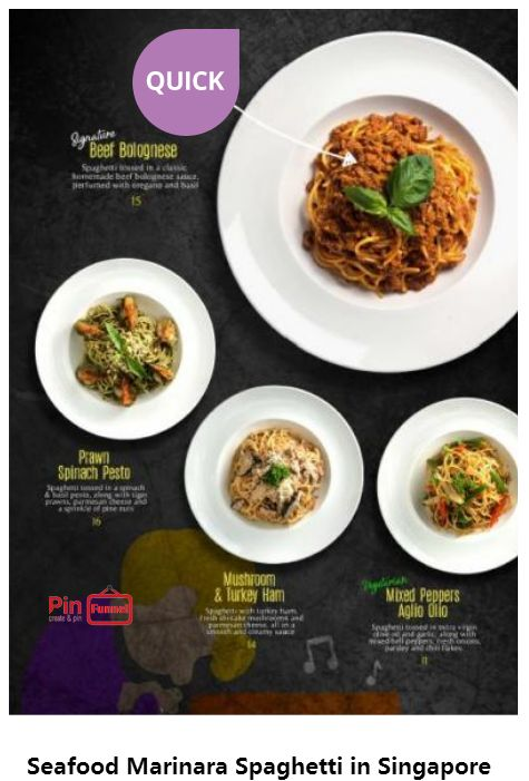 Seafood Marinara Spaghetti deal offer promo 2017 & 2018 at Charlie Brown Cafe, Cathay Cineleisure Orchard mall in Singapore, the MUIS Halal certified western restaurant. Recipe method: Heat oil in a large frying pan over medium heat. Add onion and garlic. Cook, stirring, for 3 minutes. Add wine. ... Add pasta sauce and stock. Bring to the boil, stirring occasionally. Add marinara mix. ... Add marinara and parsley to pasta. Toss until well combined. Serve. Check out more...