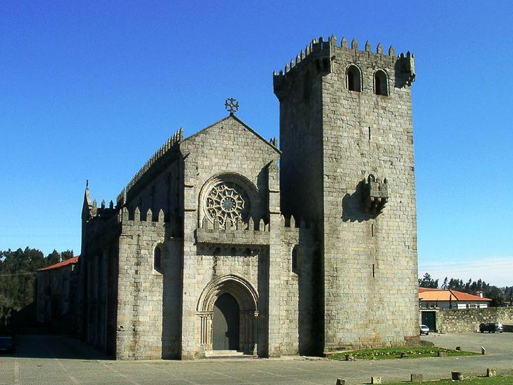 Mosteiro de Leça do Balio, Igreja de Santa Maria de Leça do Balio, Matosinhos, Portugal (1180)