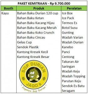 Bermula dari hobi makan durian kemudian berbisnis Franchise Sop Durian Jagos, Hubungi Firdaus 085693123544-7EDEC30A, 100% DURIAN ASLI.
