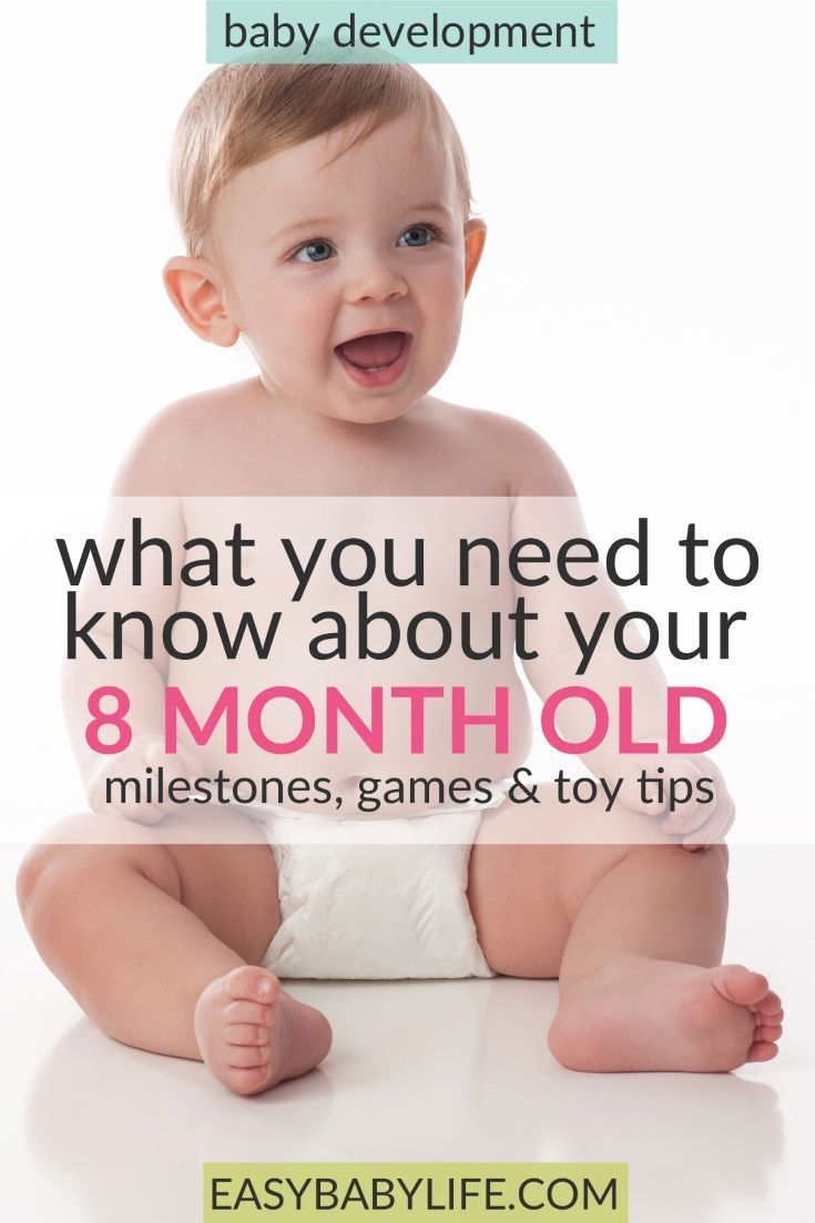 Child development in 8 months