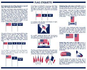 1942 memorial day flag print