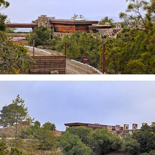 1000 images about flw oboler house on pinterest for Frank lloyd wright california