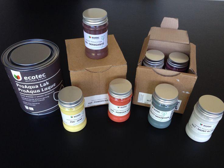 Moeilijk een kleur kiezen? Nu alle 170 leem kleuren in een handig tester potje!
