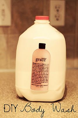 Amazing Grace Hand/Body Wash Katie.J.Gibson: Frugal Home Series Part 4: Homemade Liquid