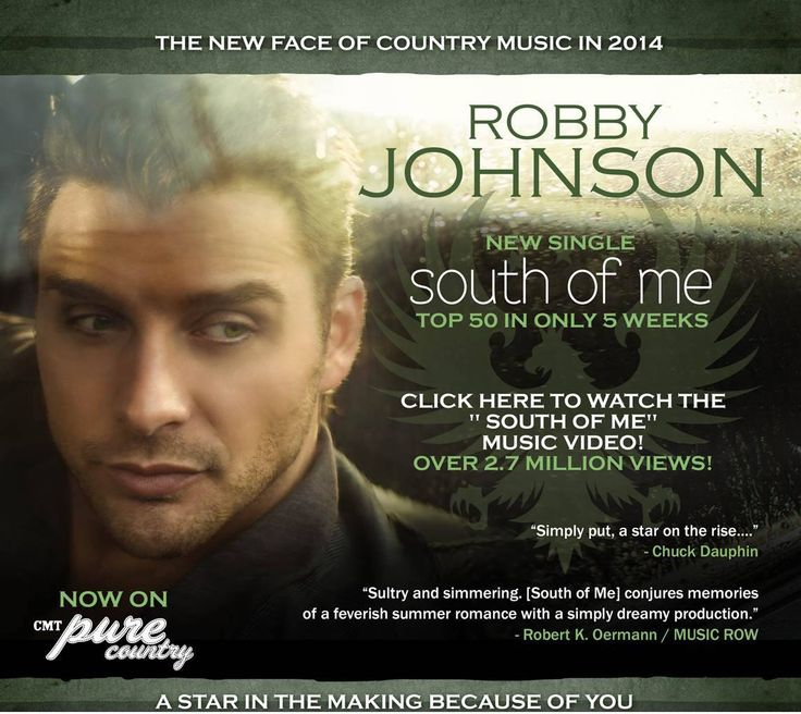 http://countrymusicvideodirectory.com/robby-johnson-south-of-me-official-music-video/