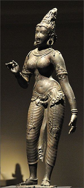 Parvati, Chola bronze, 10-12 c., Tamilnadu The Metropolitan Museum of Art, NYC