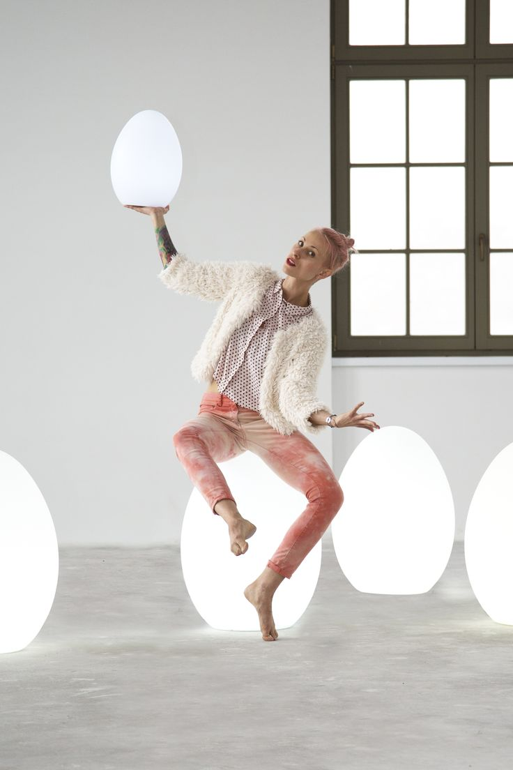 So eggcited! | Design Blog Make It Home I egg shaped design lamps nunoni