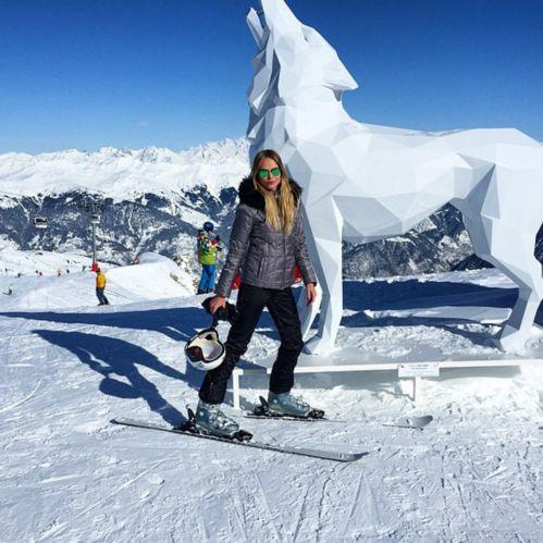 Ten model favorite ski resorts | Vogue Paris