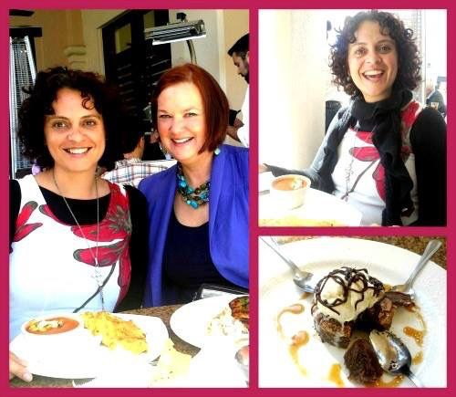 Day 85 : The most wondrous, magical, aweinspiring, lovedfilled lunch I have ever had! Meeting the wonderful and amazing Joy Balma.
