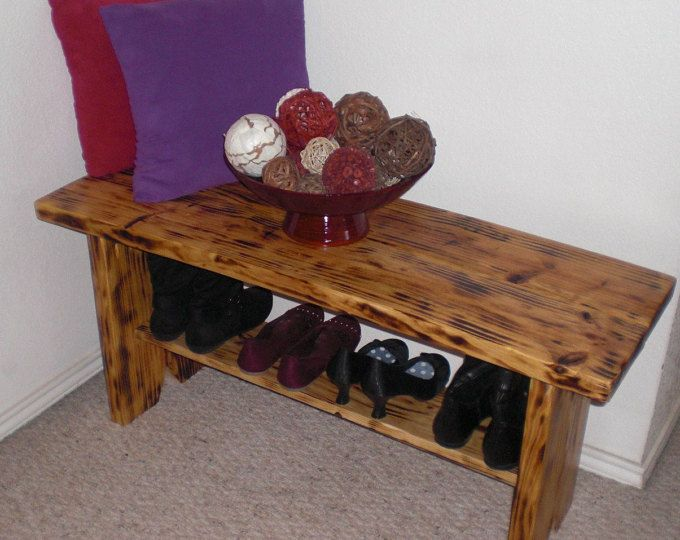 Wood Entryway Storage Bench Wood Storage Bench Shoe Bench