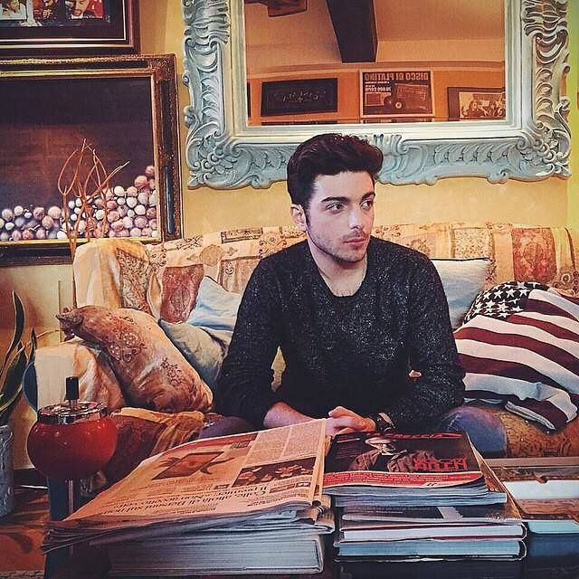 Gianluca at Michele Torpedine's house in Italy!